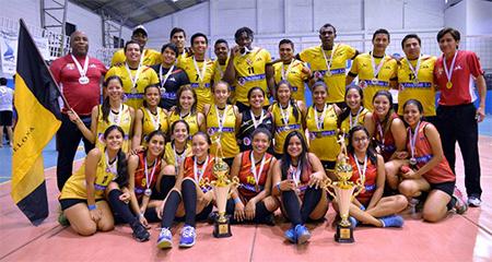 Barcelona, doble Campeón de la Liga Ecuatoriana de Voleibol 2016