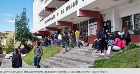 Las universidades del país ofertan 77.475 cupos para quienes ingresan por primera vez